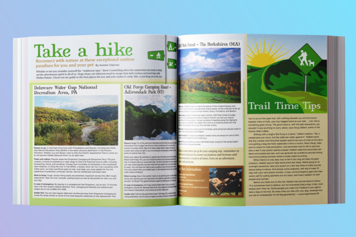 Tails Magazine – Hiking Article