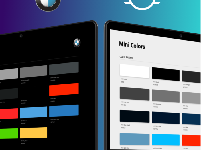 BMW & MINI Cooper Connected Apps Styles Guides and Pattern Libraries